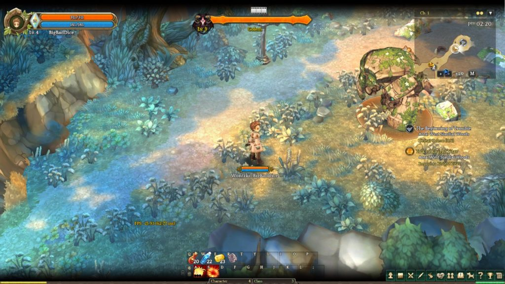 Tree of Savior - Golem