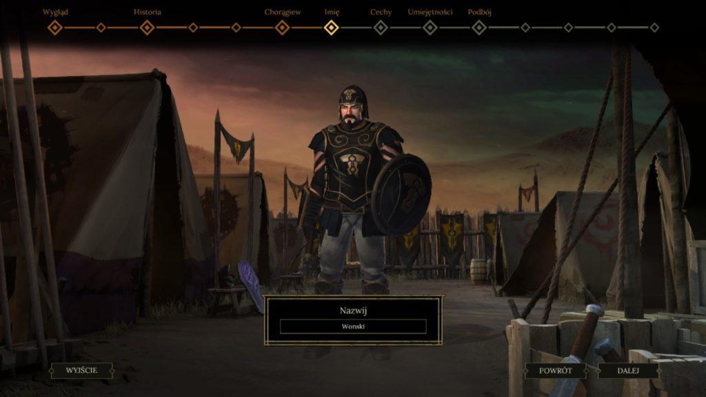 Tworzenie postaci w Tyranny jest bardzo podobne do tego znanego z Pillars of Eternity. No może z drobnymi wyjątkami.