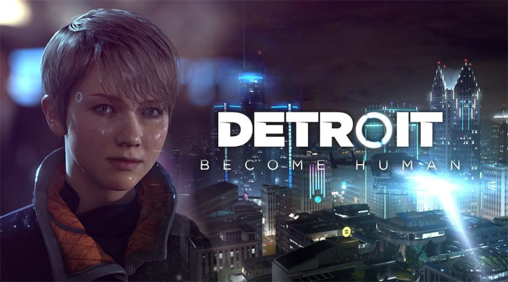 Detroid Become Human Exclusive PS4.