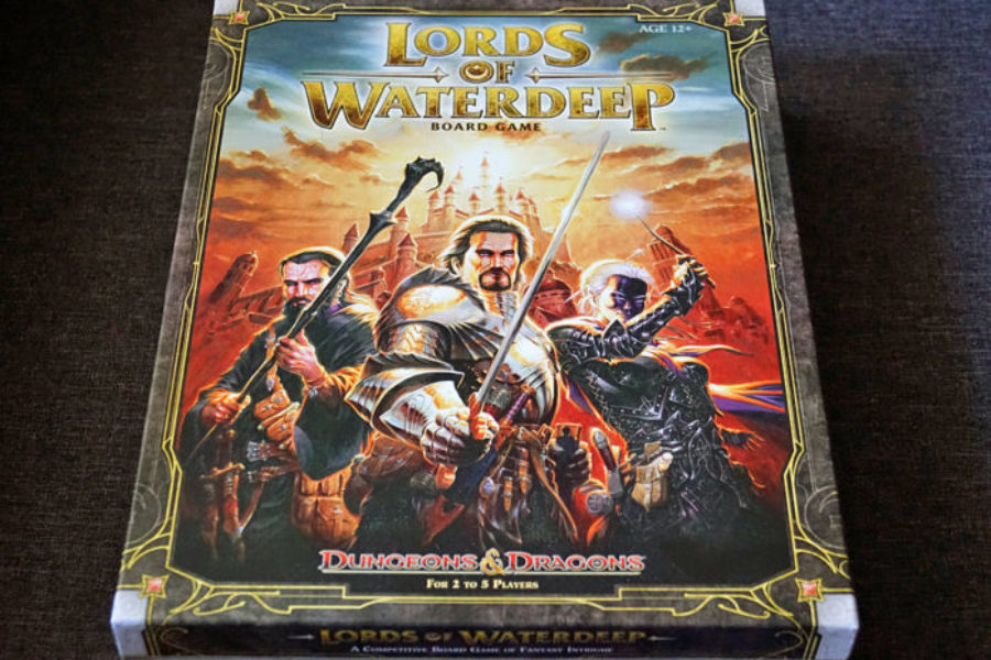 Lords of Waterdeep – Unboxing w Zapomnianych Krainach